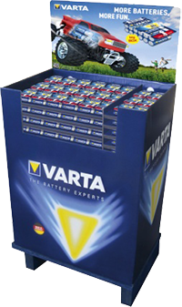VARTA Big Box Display